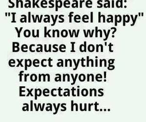 quote, shakespeare, and happy image