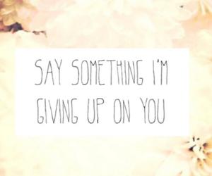 say something and say image