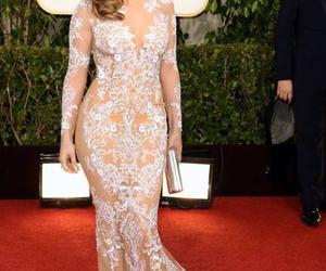 Jennifer Lopez, dress, and red carpet image