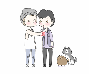 adorable, beanie, and dogs image