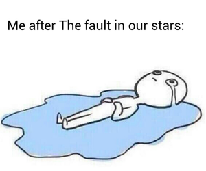 the fault in our stars, book, and me image