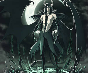 anime, Ulquiorra, and bishounen image