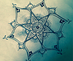 draw, drawing, and henna image