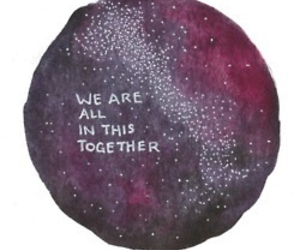 quote, art, and together image