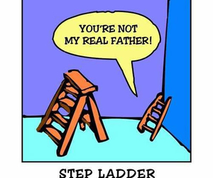 funny and ladder image