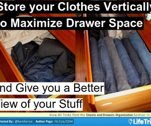 crafts, diy, and maximize drawer space image