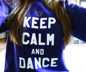 dance, keep calm, and hair image