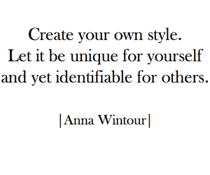 Anna Wintour, love, and quotes image