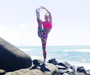 beach, dance, and fashion image