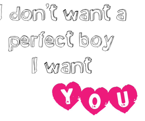 boys, I Love You, and perfection image