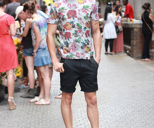 converse, fashion, and floral image