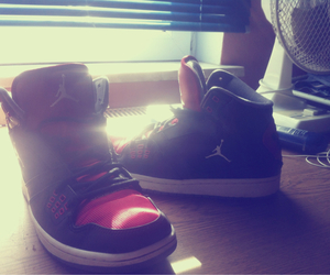 boots, jorden, and shoes image