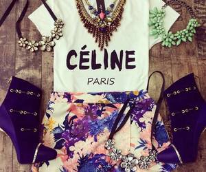 outfit, fashion, and celine image