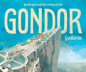 gondor, lord of the rings, and LOTR image