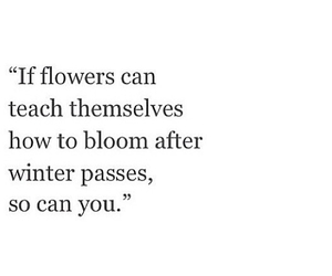 quotes, flowers, and happy image