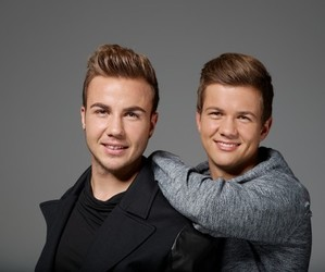 mario gotze, boy, and brothers image