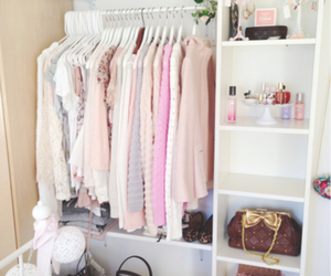clothes, pink, and room image