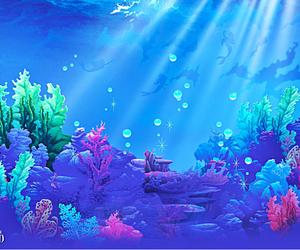 sea, beautiful, and disney image