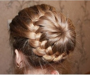 blonde, fashion, and hair style image