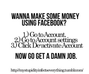 account, facebook, and fun image