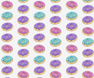 background, donut, and hungry image