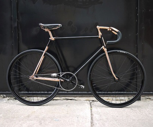 black, bike, and bicycle image