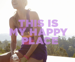 clothes, quote, and running image
