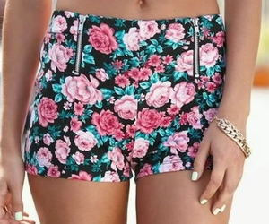 fashion, flowers, and short image