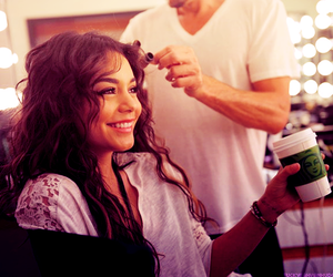 vanessa hudgens, smile, and hair image