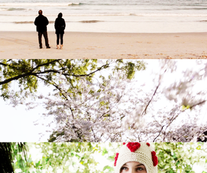 beach, movie, and stuck in love image