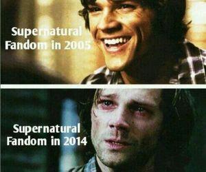 supernatural and jared padalecki image