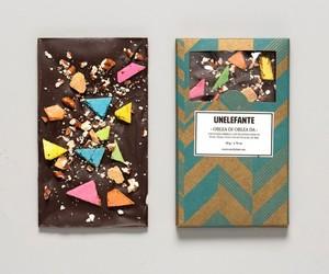 chocolate, art, and food image
