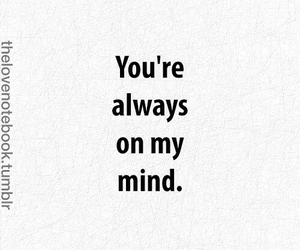 mind, quotes, and love image