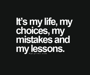 quote, choices, and lessons image