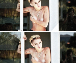 miley, rolling stone, and miley cyrus image