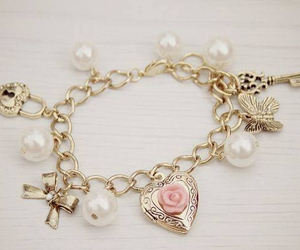 bring, pulseira, and flower image