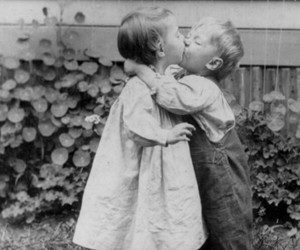 cool, kiss, and young love image