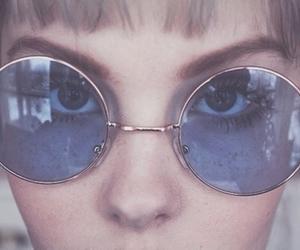 glasses, grunge, and sunglasses image