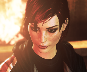 gaming, mass effect, and shepard image