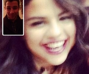 nick jonas, selena gomez, and nelena image