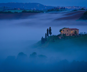 fog, mist, and secluded image