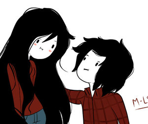 Marceline Adventure Time And Marshall Lee Image