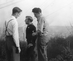 black and white, boys, and vintage image