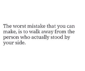 love, quote, and mistake image