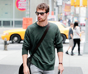 divergent, theo james, and dauntless image
