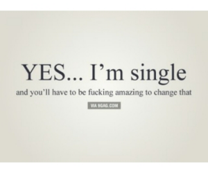 single, quote, and amazing image