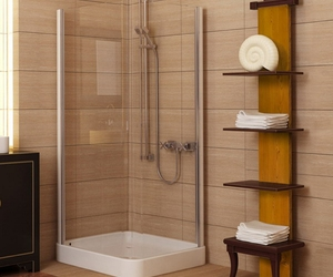 bathroom design idea, bathroom remodeling ideas, and small bathroom renovation image