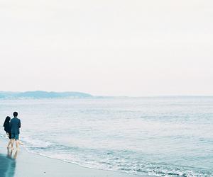 couple, sea, and vintage image