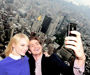andrew garfield and emma stone image