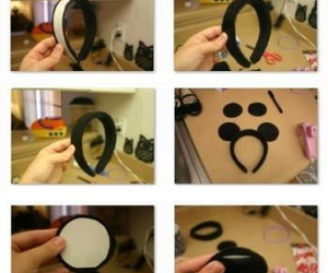 diy, tutorial, and minnie image